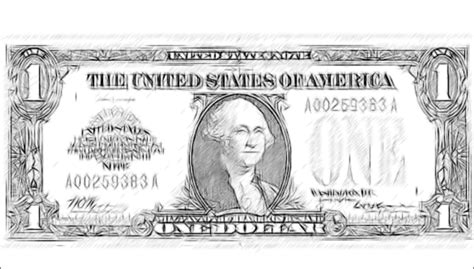 coloring page 5 dollar bill five dollar bill free coloring pages