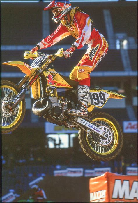 when was the first motocross race two stroke tuesday travis pastrana s first race on a