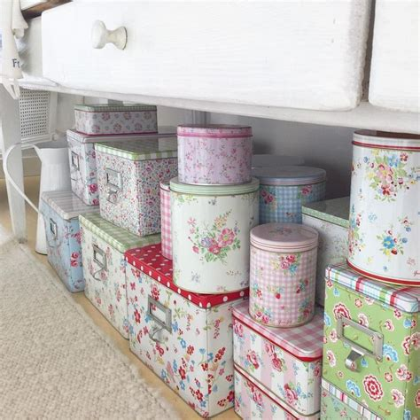 Beautiful Things From Tins by 397 Best Greengate Tins Images On Tin Cans