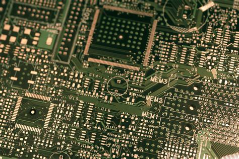 electric circuit board for free stock image of printed circuit board