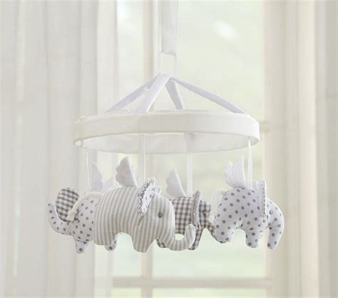 Elephant Mobile For Crib by