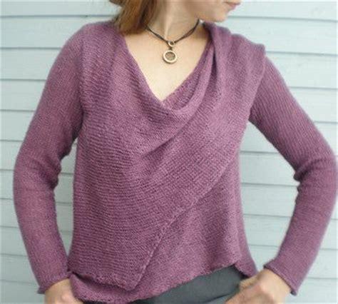 asymmetrical sweater knitting pattern wrap cardigan knitting patterns in the loop knitting