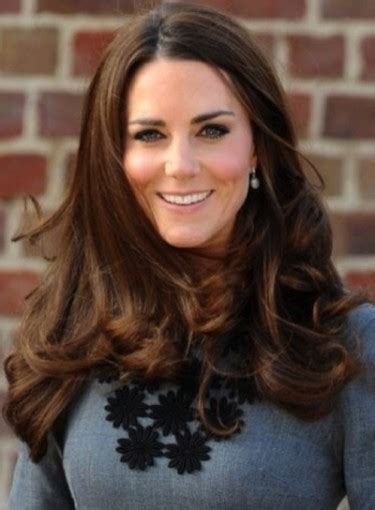 hair styles for long thick hair on middle aged woman hairstyle for long thick hair kate middleton beauty riot