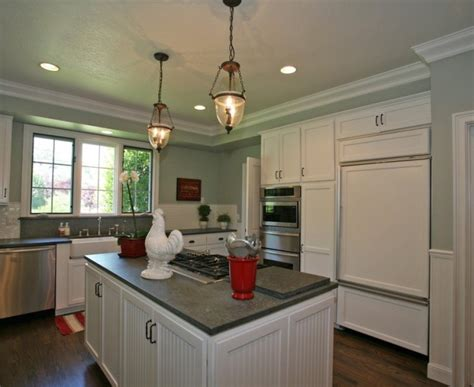 innovative crown molding ideas traditional kitchen