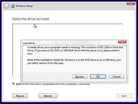 install windows 10 error install windows 10 tech preview when setup says media