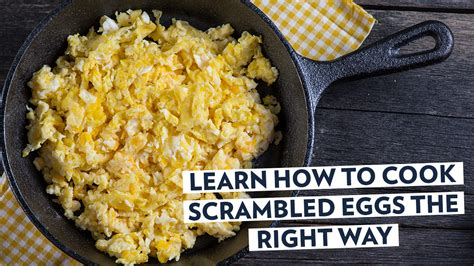 learn how to cook scrambled eggs the right way bodyrock