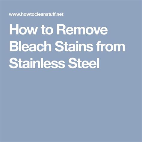 how to remove chemical stains from stainless steel sink the 25 best remove stains ideas on