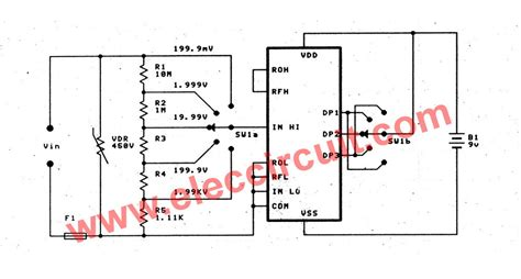 circuit diagram with voltmeter wiring diagram with