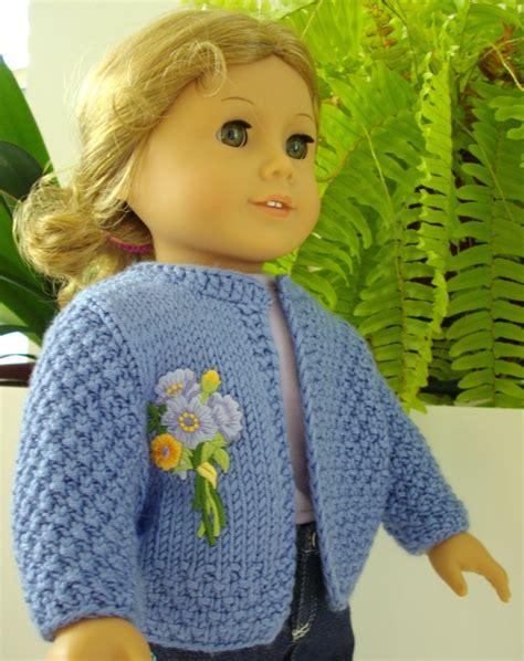 knitting pattern girl cardigan basic cardigan knitting pattern for american girl doll