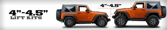 jeep wrangler 4 4 5 inch lift kits free shipping