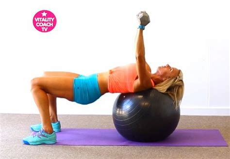 stability ball bench press 1000 images about let s get physical on pinterest