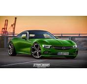 Production Opel GT Rendered But It's Not Happening  Motorward