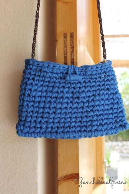 ideas y esquemas para tejer bolsos o carteras el blog de bolsos de trapillo ideas para bolsos de trapillo