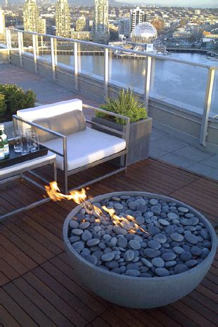 rooftop pit design guide for outdoor firplaces and firepits garden