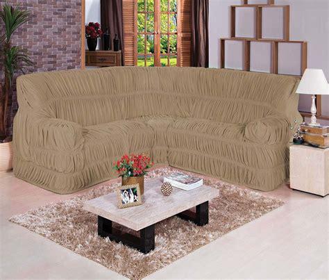 capa de sofa de canto lojas americanas capas de sof 225 de canto 5 lugares pontocom enxovais