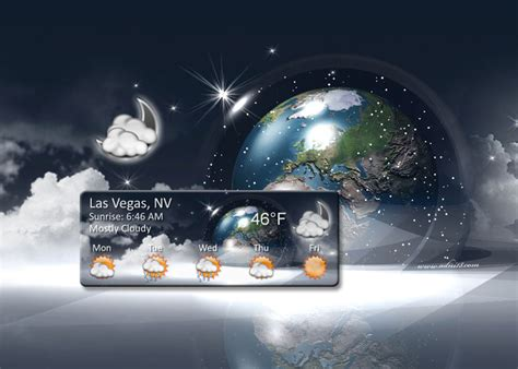 Desk Top Weather by Dual Layer Dvd Desktop Weather