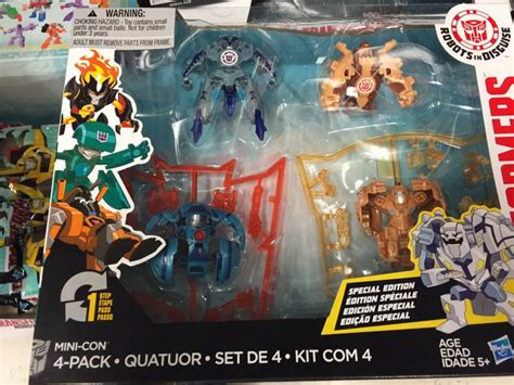 robots in disguise 2015 minicon 4 pack released at us retail transformers news tfw2005