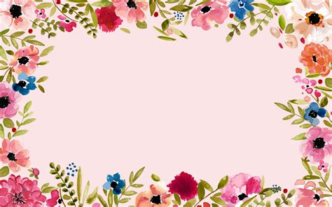 computer wallpaper border floral border wallpaper and background image 1856x1161