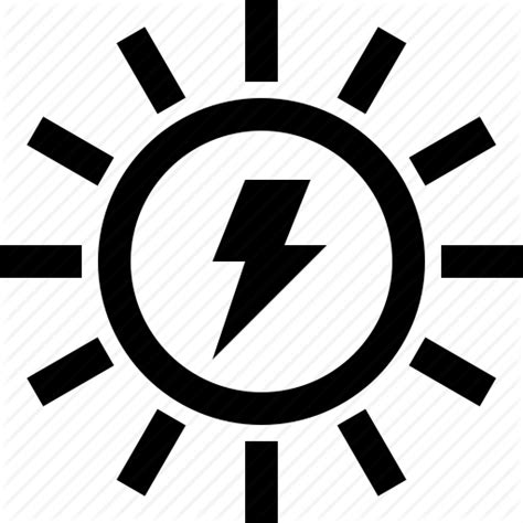sun light and power 11 solar power icon images solar power free vector icons