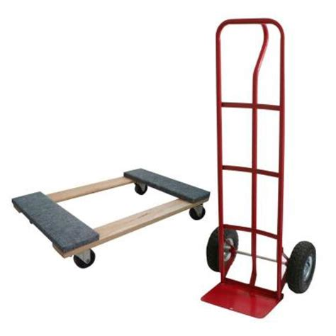 buffalo tools 600 lb capacity heavy duty truck dolly and
