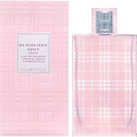 Parfum Burberry Pink burberry brit sheer edt perfume for india
