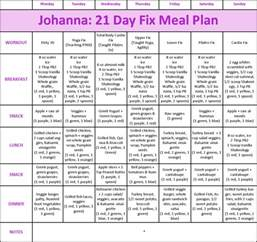 21 day fix meal plan printable myideasbedroom com