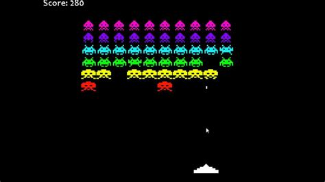 Space Invaders by Space Invaders Processing
