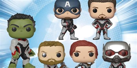 funko reveals avengers endgame pop figures cbr