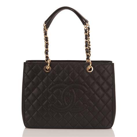 Sale Tas Chanel Gst Caviar chanel black caviar grand shopping gst world s best