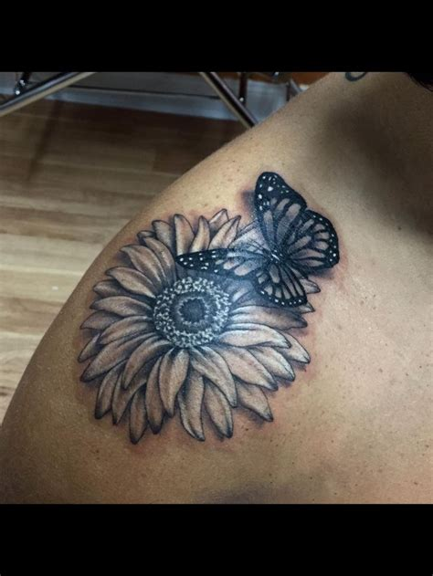 tribal daisy tattoo best 25 flower and butterfly tattoos ideas on