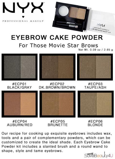 Eyebrow Cake Powder Blackgrey By Nyx pin nyx eyebrow cake powder ecp 01 black grey cake on