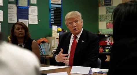 donald trump education donald trump 20 billion for school choice charisma news