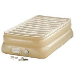 aerobed 88021 smart settings 20 quot raised air bed mattress ebay