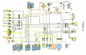 yamaha xt 500 wiring diagram