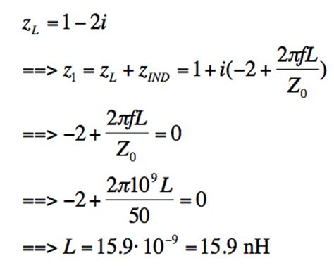 reactance of an inductor equation the smith chart intro to impedance matching and series l and c