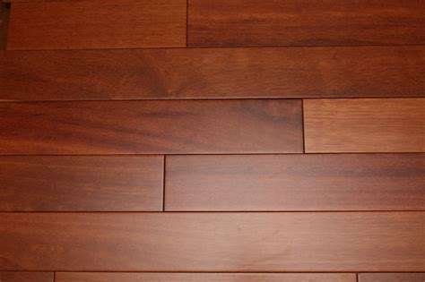 "Kempas Cherry Natural 3/4 x 3 5/8""   Exotic Solid Hardwood"