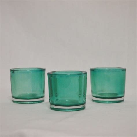 teal led tea lights covers decoration hire teal tea light candle holders for