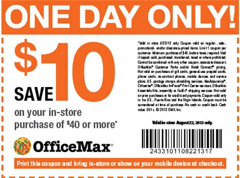 Office Max Coupons Free Printable Coupons Office Max Coupons