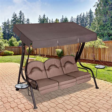 living accents 3 person swing replacement canopy for living accents 3 person deluxe