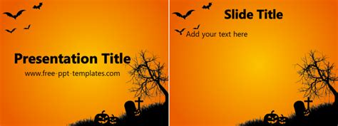 free halloween powerpoint templates download free ppt halloween ppt template free powerpoint templates