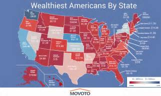 Cheapest State To Live Map The Richest Person In Every State Of America