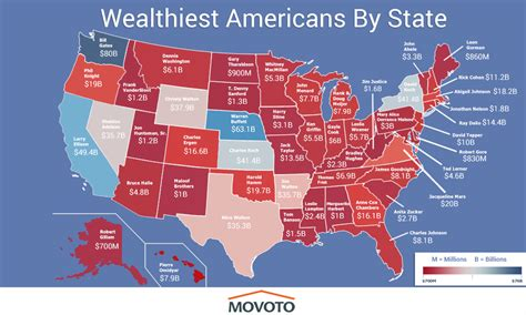Cheapest Cities In Usa by Map The Richest Person In Every State Of America