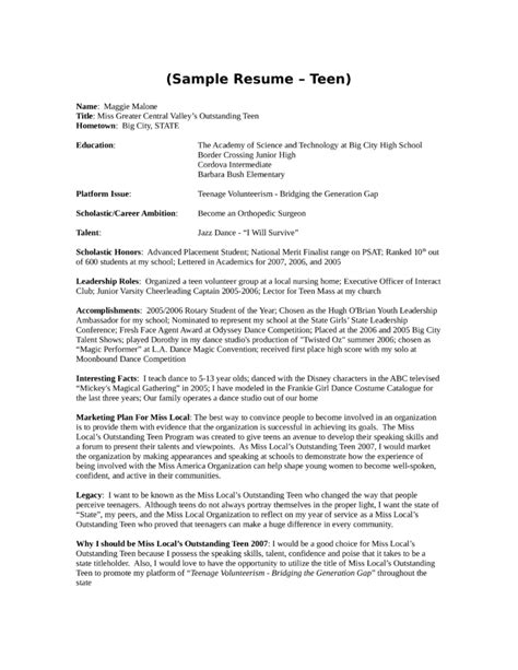 resume youth 28 images doc 700990 cv exles youth work