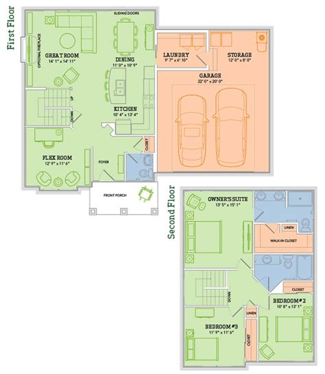 the sawyer home plan veridian homes