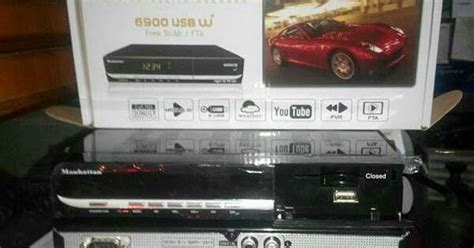 Limited Receiver Manhattan 6900 W Include Wifi Dongle manhattan 6900 w 460 000 arin parabola