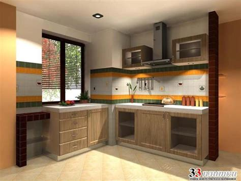 Orange Kitchen Ideas Brown And Orange Kitchen Designs Quicua