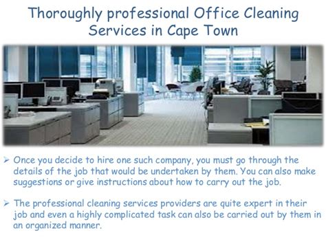 cleaner jobs in cape town choose office cleaning services cape town