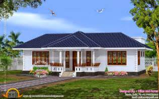 Home Designs Kerala With Plans by House Plan Of Single Floor House Kerala Home Design And