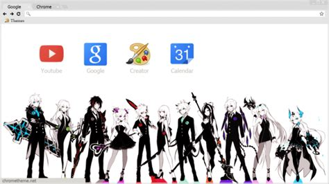 google theme elsword elsword chrome theme themebeta