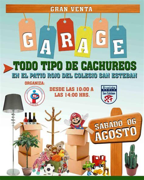 ventas de garaje gran venta de garage en el colegio san esteban agenda